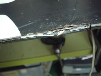 修理例Bの修理前の写真