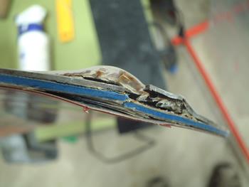 修理例Dの修理前の写真